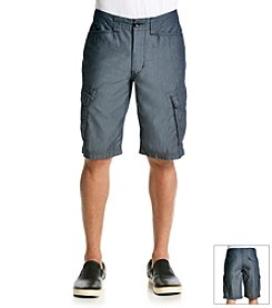 DKNY JEANS® Men's Chambray Cargo Shorts