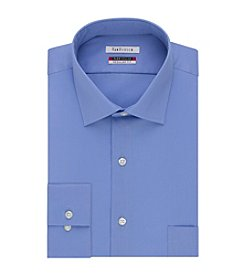 Van Heusen® Men's Big & Tall Twill Solid Button Down Dress Shirt