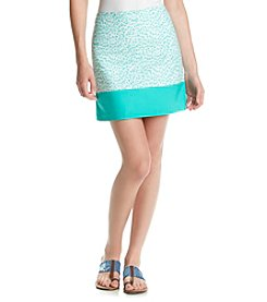 MICHAEL Michael Kors® Print Blocked Mini Skirt