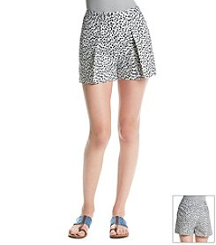 MICHAEL Michael Kors® Jaguar Pleated Short