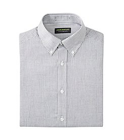 John Bartlett Statements Men's Mini Check Button Down Dress Shirt