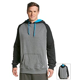 Exertek® Men's Big & Tall Color Block Fleece Pullover Hoodie