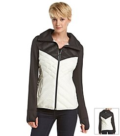 MICHAEL Michael Kors® V-Chest Down Fill Coat
