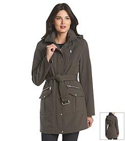 MICHAEL Michael Kors® Belted Zip Front Coat