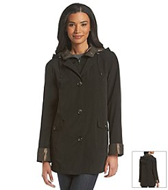 Gallery® Zip Front Coat With Removable Lining