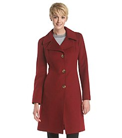 Anne Klein® Notch Collar Coat