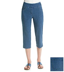 Ruby Rd.® Denim Crop Capri