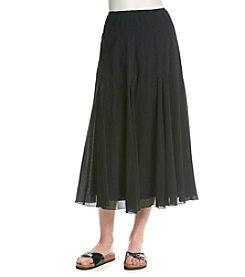 Ruby Rd.® Crinkle Gauze Skirt