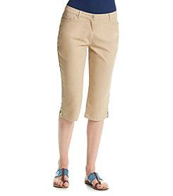 Ruby Rd.® Au Natural Embellished Denim Capri
