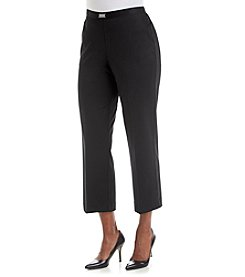 Alfred Dunner® Keep It Modern Solid Short Pants
