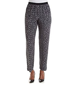 Alfred Dunner® Keep It Modern Printed Pants