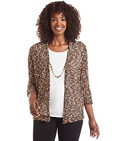 Alfred Dunner® Colorado Springs Layered Look Sweater
