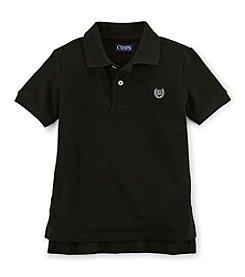 Chaps® Boys' 2T-4T Short Sleeve Basic Polo