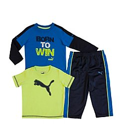 PUMA® Baby Boys' 3-Piece Born To Win Set