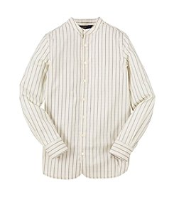 Ralph Lauren Childrenswear Girls' 7-16 Multi Stripe Shirt
