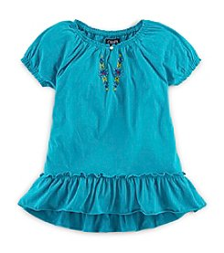 Chaps® Girls' 7-16 Flutter Sleeve Top