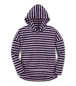 Chaps® Girls' 7-16 Striped Hoodie