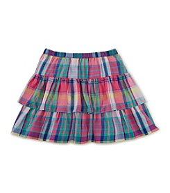 Chaps® Girls' 7-16 Flutter Ruffle Skirt