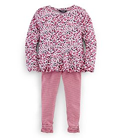 Chaps® Girls' 2T-6X Sabrina Knit Set