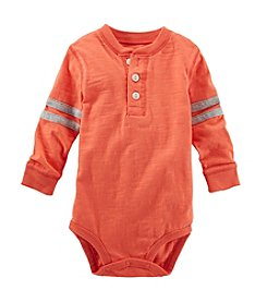 OshKosh B'Gosh® Baby Boys' 6-24M Long Sleeve Henley Bodysuit