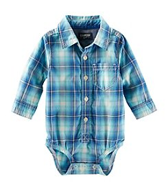 OshKosh B'Gosh® Baby Boys' 6-24M Plaid Poplin Bodysuit
