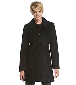 Forecaster Single-Breasted Club Collar Walker Coat