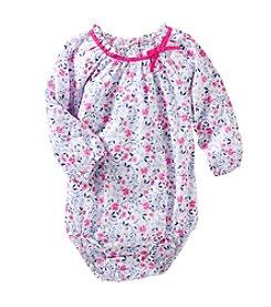 OshKosh B'Gosh® Baby Girls' Floral Poplin Bodysuit