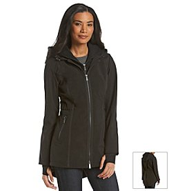 DKNY® Double Zip Front Anorak Jacket