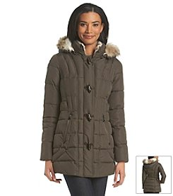 Laundry by Design Three-Quarter Toggle Coat
