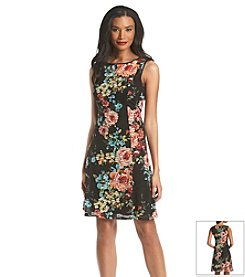 Ronni Nicole® Floral Burnout Dress