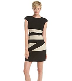 AGB® Colorblock Sheath Dress