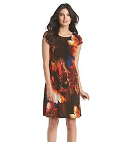 Madison Leigh® Floral Trapeze Dress