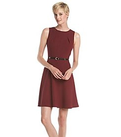 AGB® Fit And Flare Sheath Dress