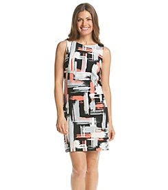 Jessica Howard® Petites' Brush Stroke Sheath Dress