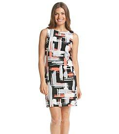 Jessica Howard® Petites' Brush Stroke Sheath Dress