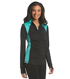 Exertek® Colorblock Shirred Front Jacket