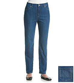 Gloria Vanderbilt® Amanda Embroidered Denim Jeans