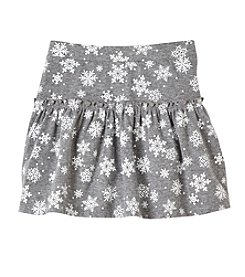 Little Miss Attitude Mix & Match Girls' 2T-6X Snowflake Print Skirt