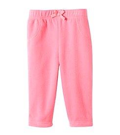 Cuddle Bear® Mix & Match Baby Girls' 3M-2T Solid Microfleece Pants