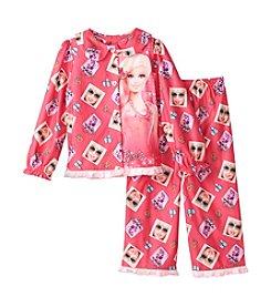 Mattel® Girls' 2T-4T Barbie Coat Front Set