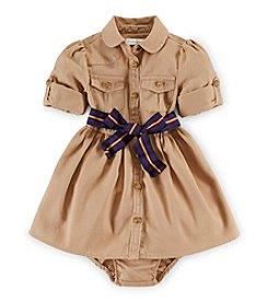 Ralph Lauren Childrenswear Baby Girls' Khaki Dress