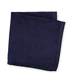 Ralph Lauren Childrenswear Baby Boys' Solid Blanket