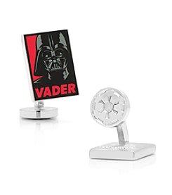 Star Wars™ Men's Darth Vader Pop Art Poster Cufflinks