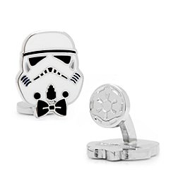Star Wars™ Men's Stylish Storm Trooper Cufflinks