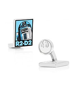 Star Wars™ Men's R2D2 Pop Art Poster Cufflinks