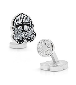 Star Wars™ Men's Clone Trooper Typography Cufflinks