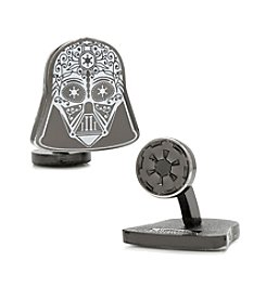 Star Wars™ Men's Darth Vader Sugar Skull Cufflinks