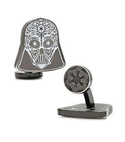 Star Wars™ Men's Darth Vader Sugar Skull Cufflinks