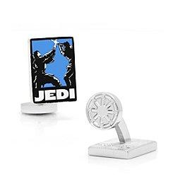 Star Wars™ Men's Jedi Pop Art Poster Cufflinks