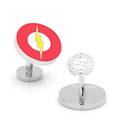 DC Comics Men's Flash Logo Cufflinks